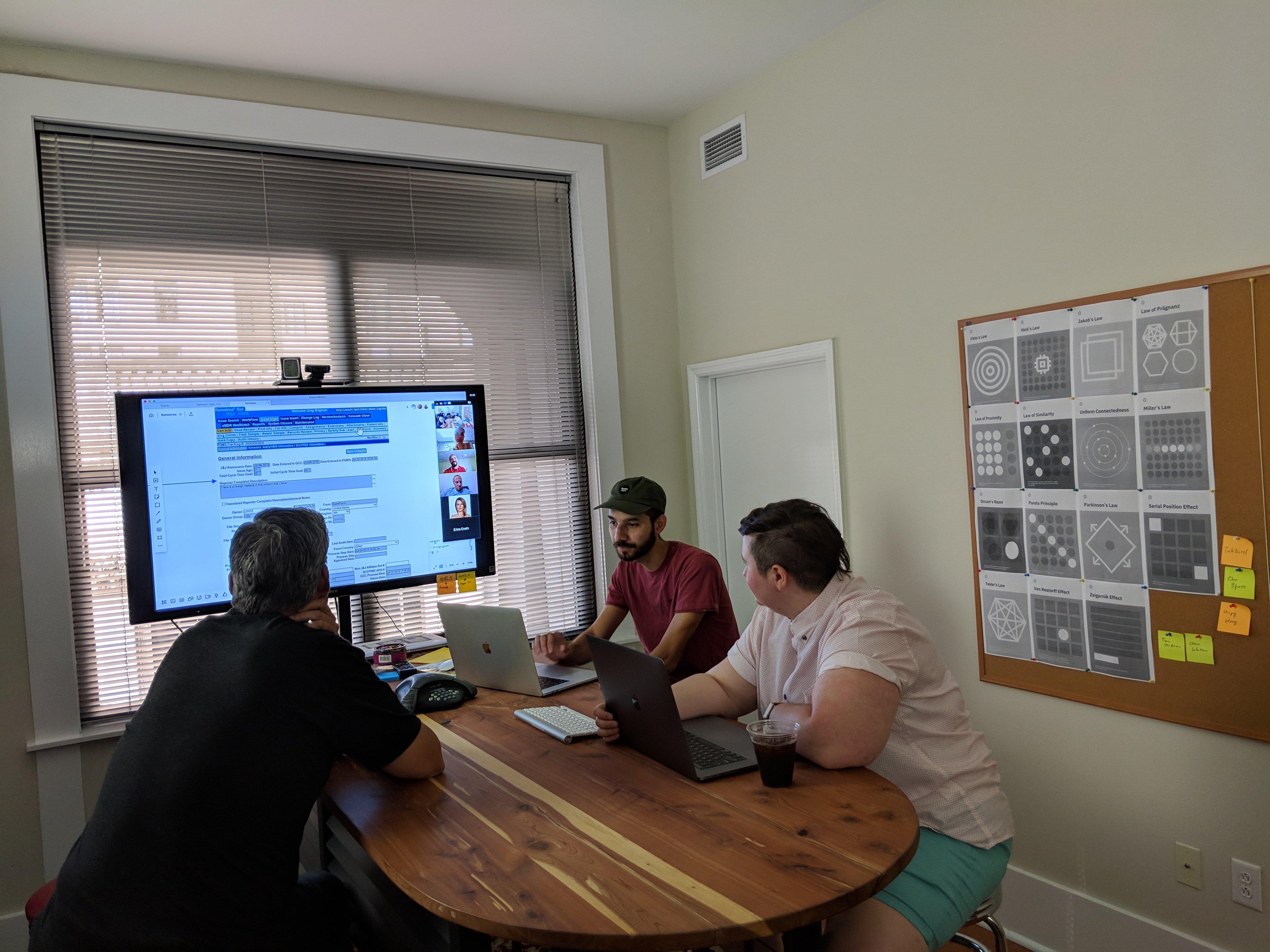 research ux design process photo