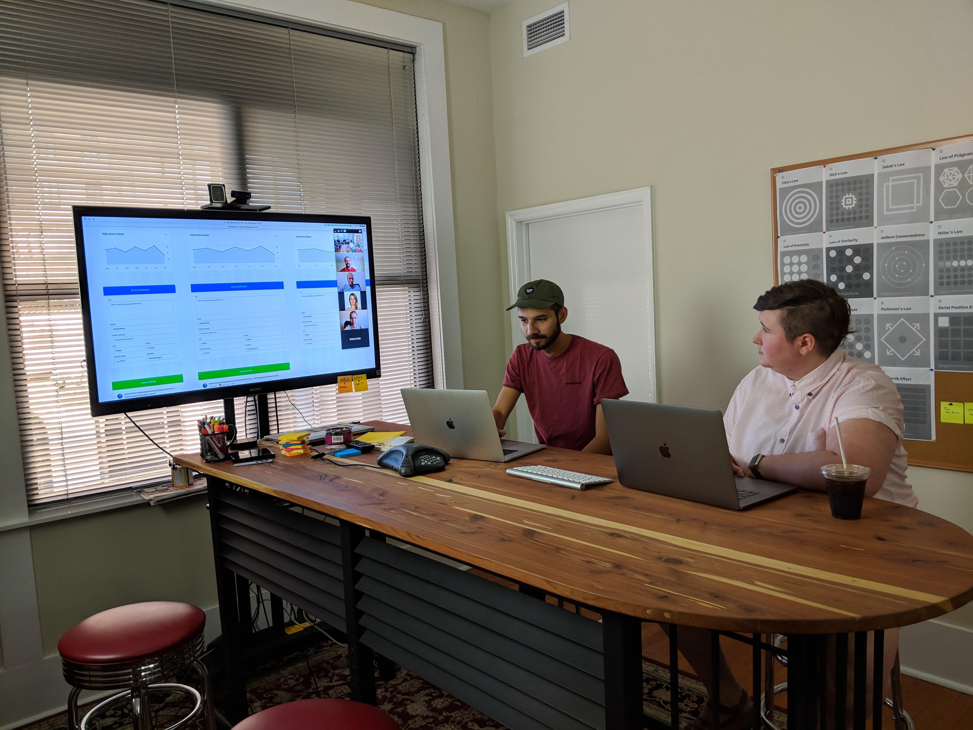 Agile UX meeting