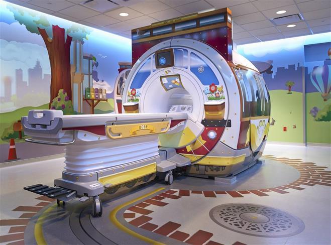GE's redesigned MRI machine