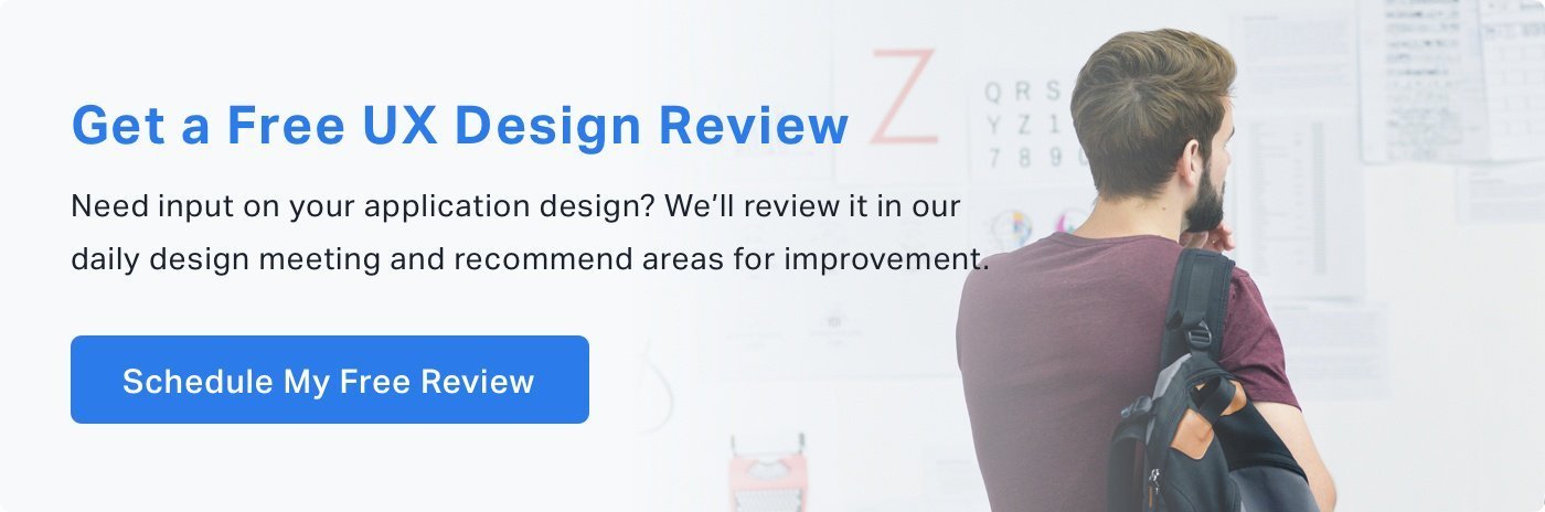 Free UX Design Review